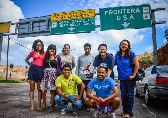 A group of eight Dreamers are asking the Obama administration to let them come back to the U.S, after some of these Dreamers crossed the border and others were deported recently. (Twitter/DREAM Activists)