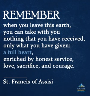St Francis Of Assisi Quotes Stfrancis Of Assisi  Ignatian Solidarity Network