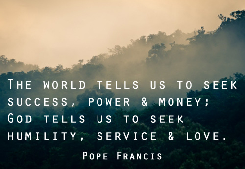 Pope Francis Quotes On Service