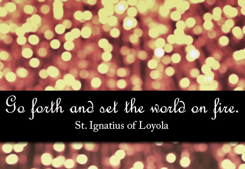 St Ignatius Quotes Endearing Stignatius Of Loyola  Ignatian Solidarity Network