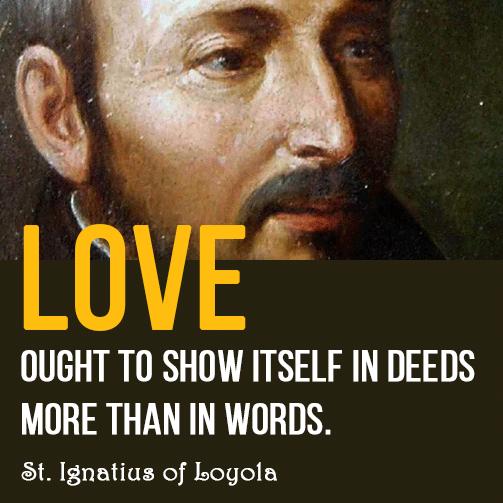 St Ignatius Quotes Delectable Stignatius Of Loyola Quote
